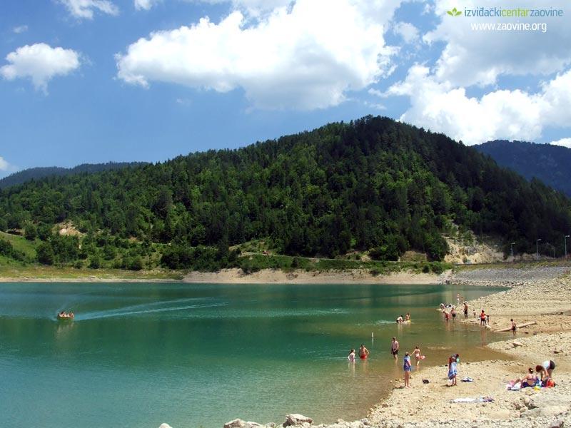 Jezera Zaovine-jezero