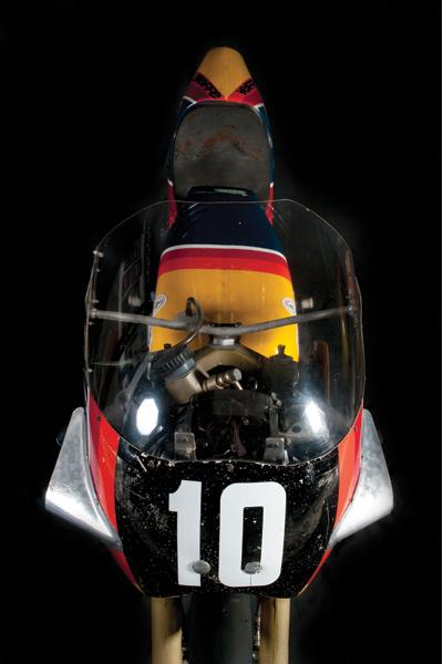 EXPO. Motos de carrera. Los años del vértigo: 1970 -1980. Colección Scalise San-Venero-Vigneti