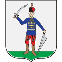 Teritorijalna veksilologija i heraldika Srbije Kanjiza-grb