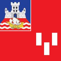 Teritorijalna veksilologija i heraldika Srbije Novi-beograd-zastava
