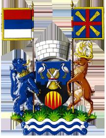 Teritorijalna veksilologija i heraldika Srbije Pecinci-grb-veliki