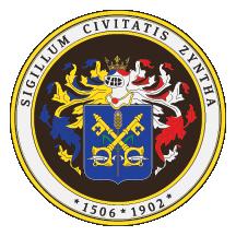 Teritorijalna veksilologija i heraldika Srbije Senta-grb-srednji-pecatni