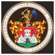 Teritorijalna veksilologija i heraldika Srbije Sombor-grb-srednji-pecatni