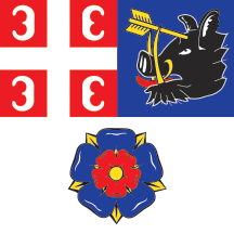 Teritorijalna veksilologija i heraldika Srbije Vozdovac-zastava
