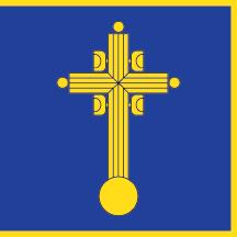 Teritorijalna veksilologija i heraldika Srbije Vracar-zastava