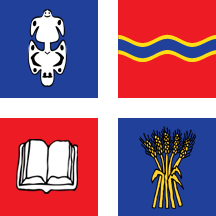 Teritorijalna veksilologija i heraldika Srbije Vrbas-zastava