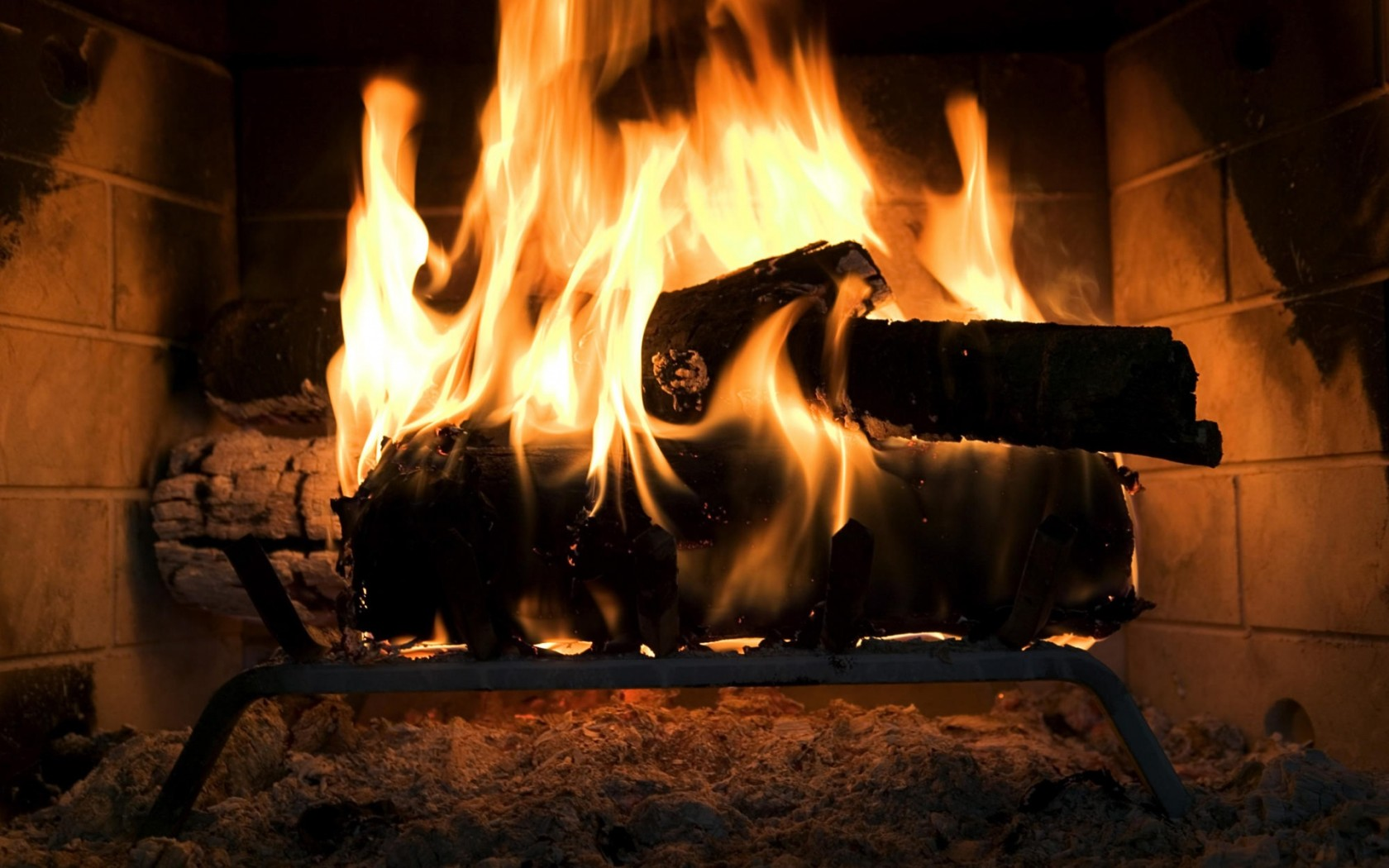 НАША Кофейня - Страница 17 Creative_Wallpaper_The_fire_in_the_fireplace_019215_