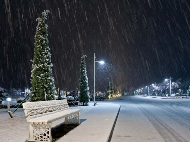 Обои для рабочего стола - природа Winter_Winter_in_the_city_037206_29