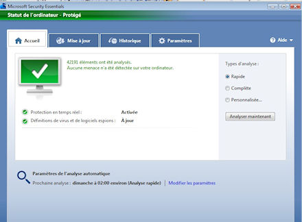 L'antivirus gratuit de Microsoft est disponible Security-essentials-microsoft
