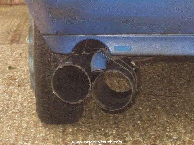 [BMW X5 E53] Pose d'embouts factices d'échappement Echappement-jacky-tuning-01