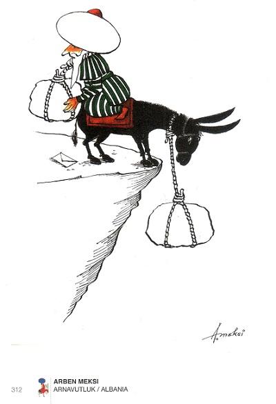 Festat e fundvitit ArbenMeksi-Karikatura