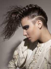 Zanimljive frizure - Page 2 Pletene-frizure