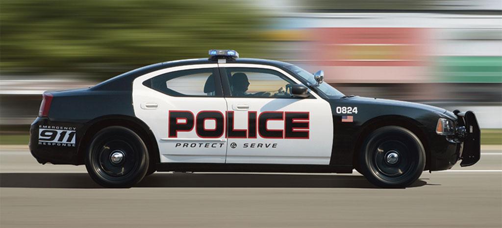 Caprice vs. Interceptor vs. Impala vs Charger 2009-Dodge-Charger-police-car-2