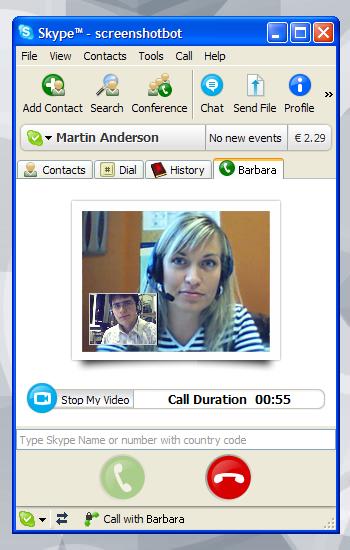 SKYPE القديم اللأصدار 3.8 Skype_video