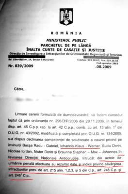 Klaus Iohannis are dosar la DNA pentru retrocedare frauduloasa, blocat de Kovesi Dna_johannis