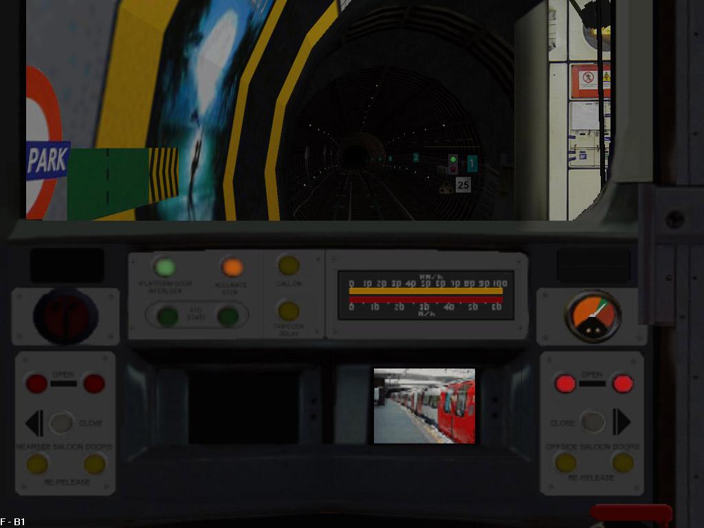 1996 Tube Stock for OpenBVE LT1996-GrnPk