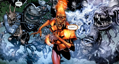 The Book of Larfleeze [par STARGRAVE, P. Plon. Okaara, 2020, 1p.] 3365