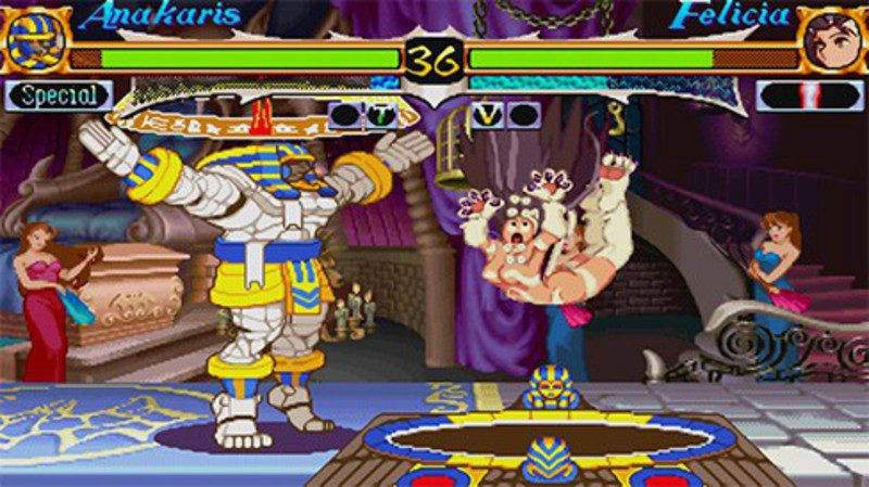 [Arcade- PS1] DarkStalkers - The Night Warriors 6