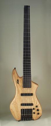 Achiles NH-1 Custom Headless Bass Vb5
