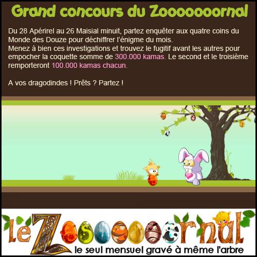 [Zo7rnal] Edition de Apérirel + grand jeu-concours ! Concoursmaisial