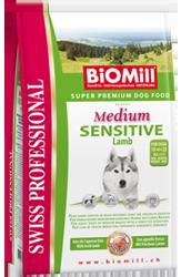 BiOMill - экологически чистый корм для собак и кошек. Medium%20SENSITIVE%20Lamb