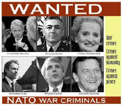 Le président de la République de Serbie, Boris Tadis Nato_wanted