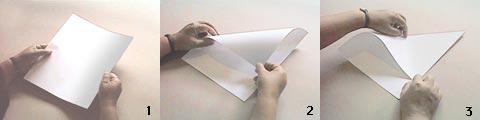 Dünyanın en iyi uçan kağıt uçağını yapmak istermisiniz_? 1_2_3