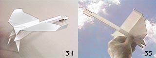 Dünyanın en iyi uçan kağıt uçağını yapmak istermisiniz_? 34_35