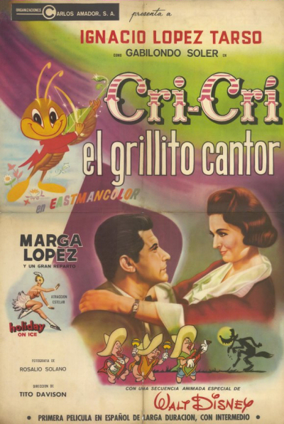 [Walt Disney] Cri-Cri, le Grillon Chanteur (1963) 1963-grillon-1