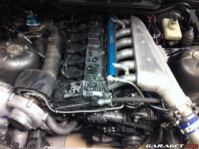 KNACKAN - BMW E36 M50B30 833hk 1016nm 210894-2121133