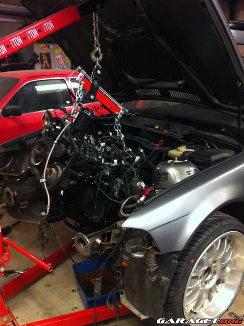 KNACKAN - BMW E36 M50B30 833hk 1016nm 28270-44124da64558d8de2aa42c6fcf22f15f