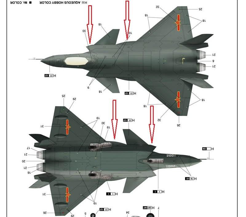 المقاتلة الصينية J-20 Mighty Dragon المولود غير الشرعي 11236229