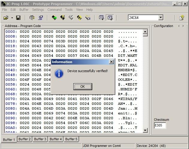 rakitan sendiri downloader ic eprom 24Cxx 11605854