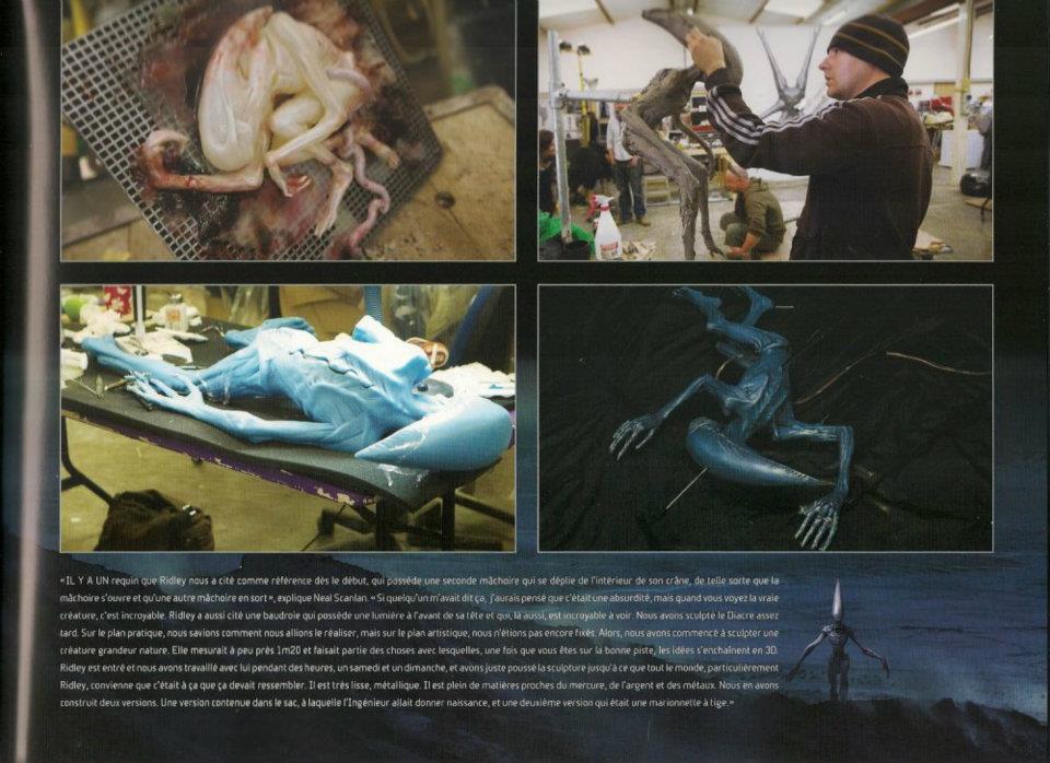 PROMETHEUS das Buch zum Film (Kulissenbau,Kostüme,Modelle,Grafik,Entwürfe) K7qlrk9i9wo