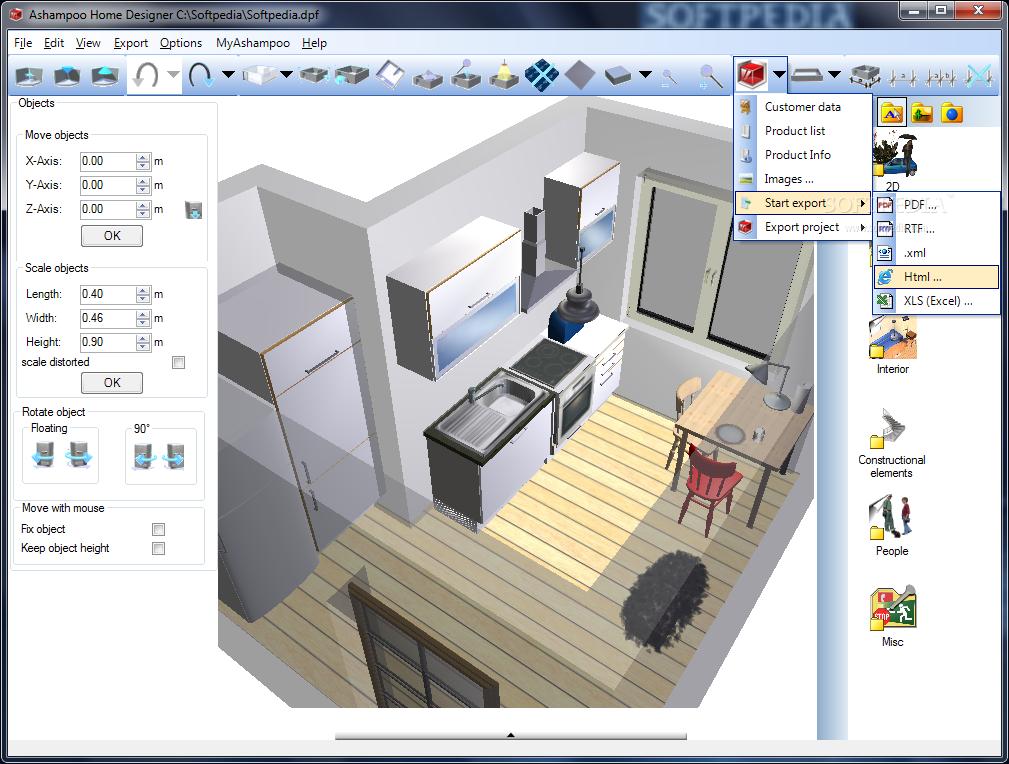 برامج تصميم منازل