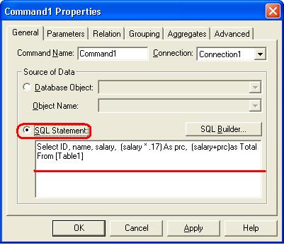 كيفه عمل عمليات حسابيه داخل الــ Data Report ؟؟ 660888249