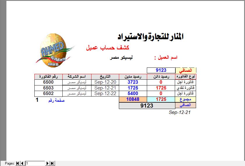 العمليات الحسابية داخل التقارير DataReprot 935950798