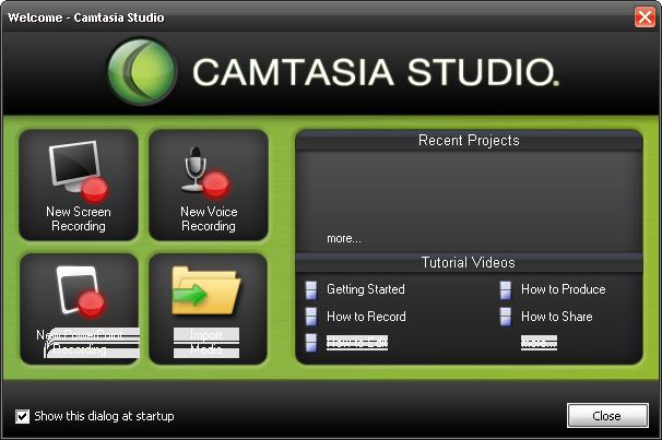 تحميل برنامج كام ستديو 7 النسخة الانجليزية لتصوير الشاشة وعمل الشروحات camtasia studio 7english 199510204
