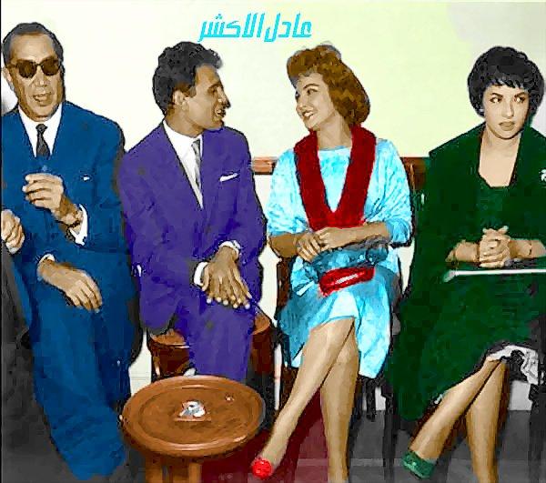 صور الفنانة شادية زمااااااااااان بالوان عادل الاكشر  - صفحة 2 337246148