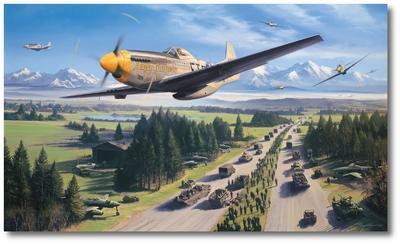الموستانج P-51 السجــل القتالـــى الاروع فى تاريخ المقاتلات 375015603