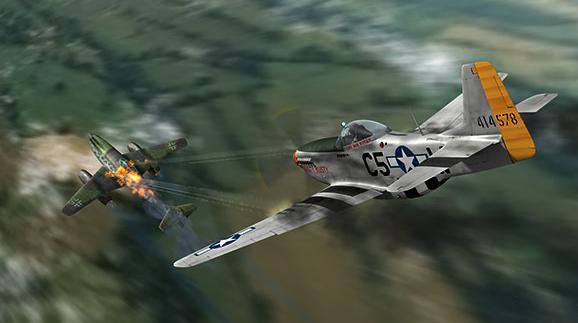 الموستانج P-51 السجــل القتالـــى الاروع فى تاريخ المقاتلات 503355386