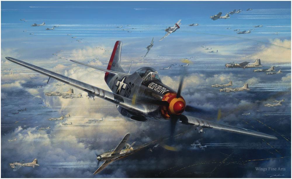 الموستانج P-51 السجــل القتالـــى الاروع فى تاريخ المقاتلات 906839038