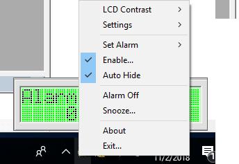 LCD Alarm Clock ساعة و منبة بمميزات كثيرة مفتوح المصدر 454452039