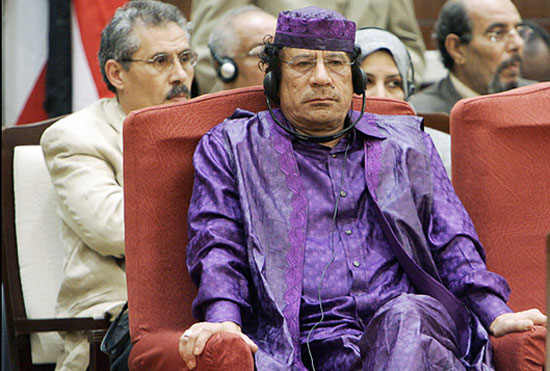 أغرب ملابس القذافي 505237358