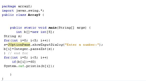 دورة الجافا الرسومية بأستخدام NetBeans ... الدرس (6) المصفوفات Arrays !! 519827174