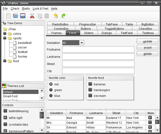 تعلم كيفية استخدام المكتبة JTattoo لانشاء تطبيقات سطح المكتب ذات واجهة مستخدم رسومية جذابة 951650019
