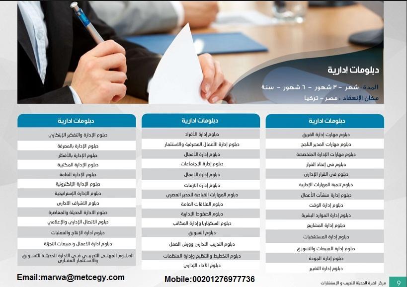 الدبلومات الإدارية : دبلوم الإدارة بالأفكار 352382558