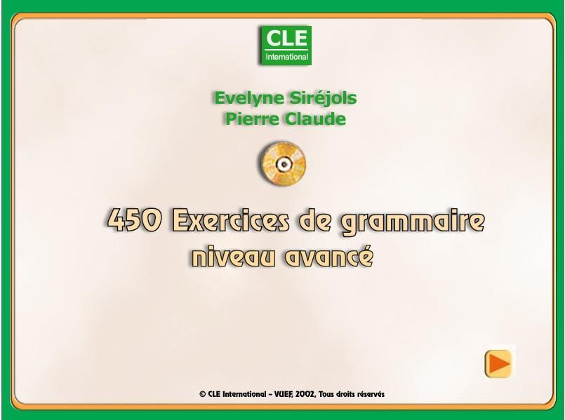 برنامج رائع لتعلم اللغة الفرنسية 450 exercice de grammaire 353917176