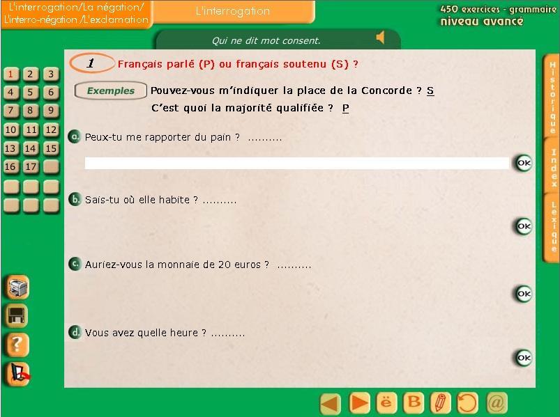 برنامج رائع لتعلم اللغة الفرنسية 450 exercice de grammaire 434406384