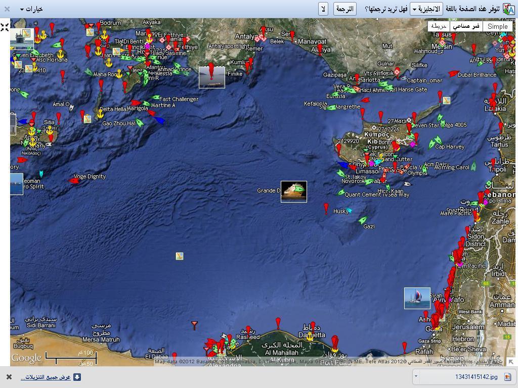 خريطة مواقع السفن الحربيه والاساطيل حث الغزو في البحر وانها افضل بسبع غزوات في البر  646973701